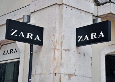 ארגז דגל מואר ZARA