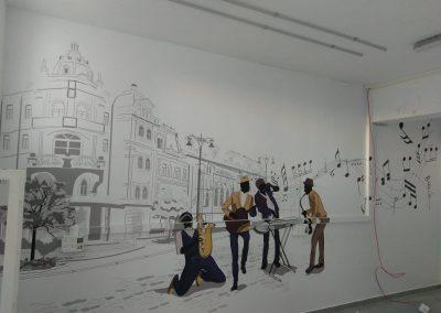 טפט קיר מודפס