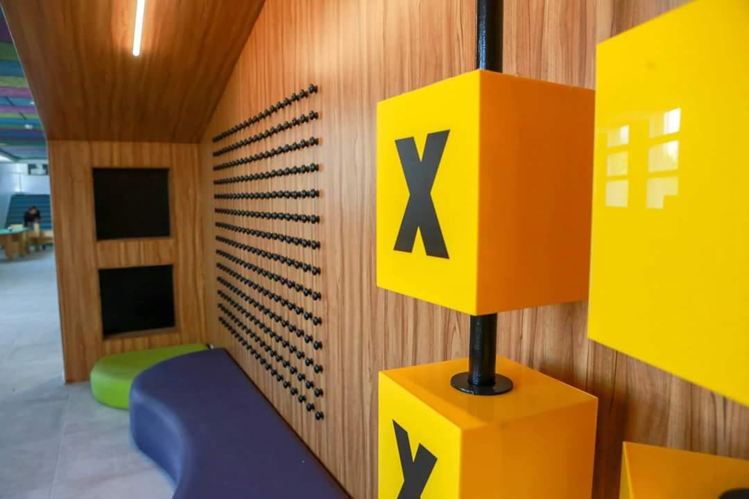 משחק איקס עיגול חלק מעיצוב סביבה לימודית